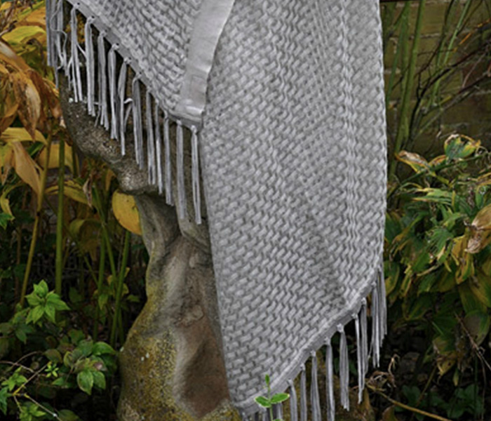 Antique-Grey-Weave-Suede-Tassel-Shawl-1