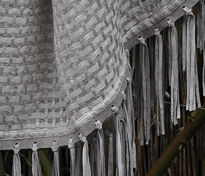 Antique-Grey-Weave-Suede-Tassel-Shawl-2