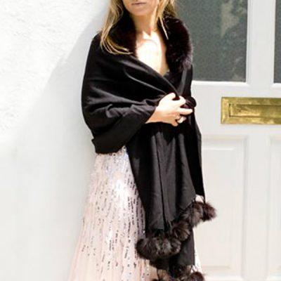 'Classic' Fur Shawls