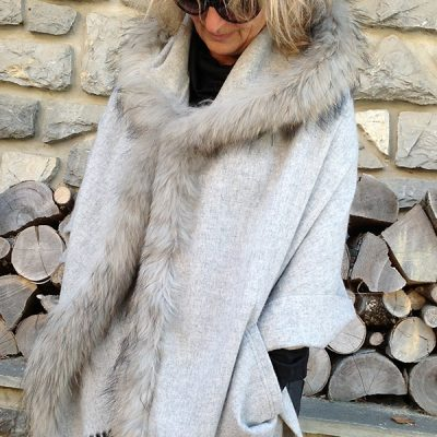 Hooded Fur Wraps