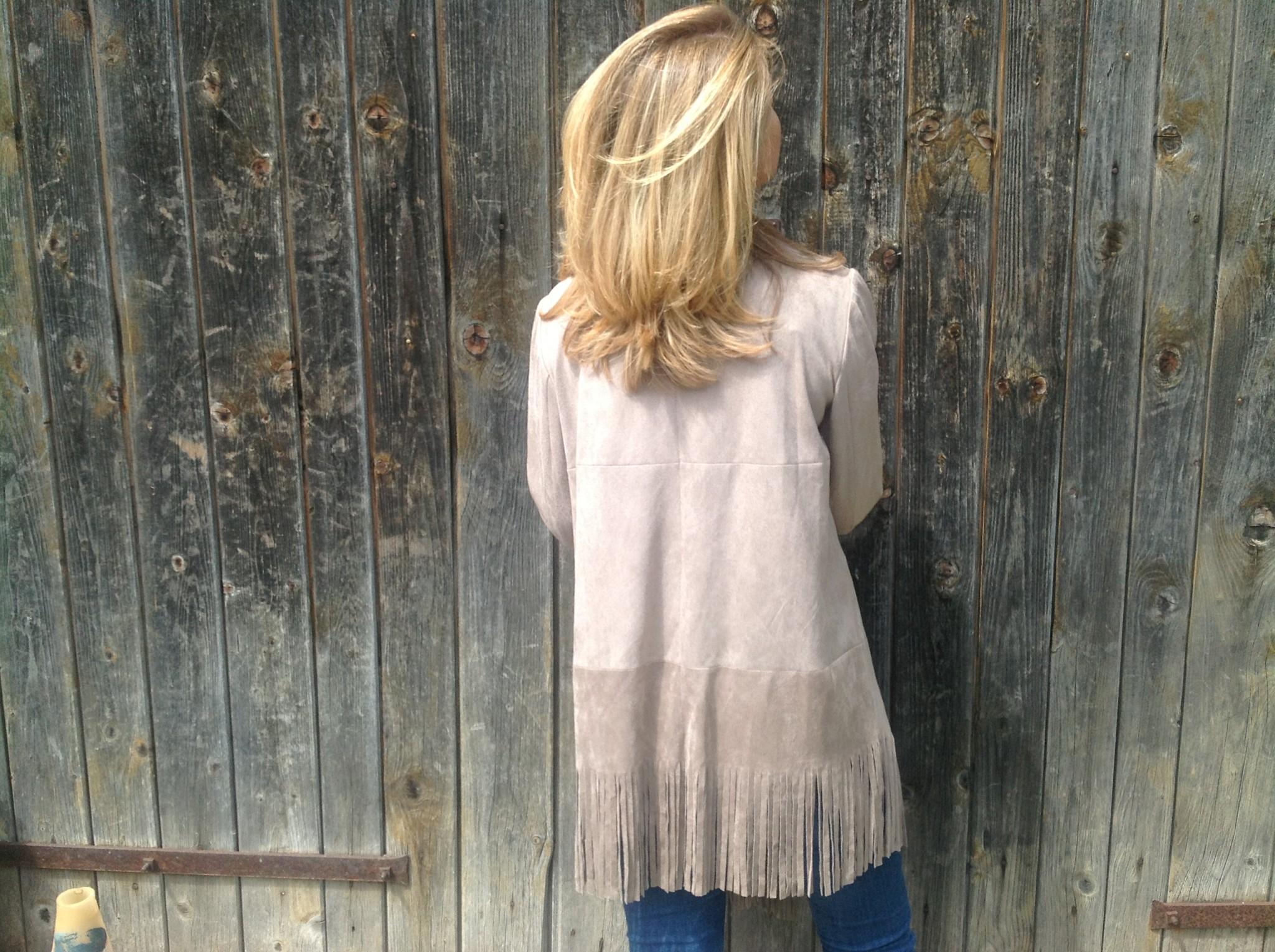 Mink faux suede coat-2