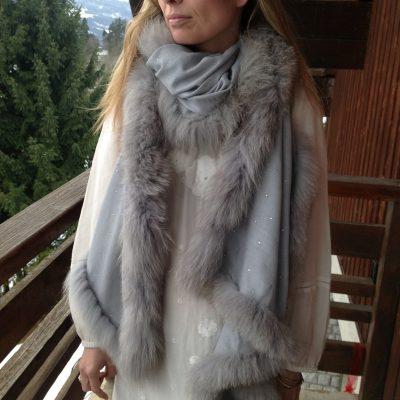 Crystal Fur Wraps