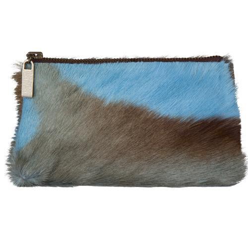 Sprinkbok Pouch Bag in Blue-HL