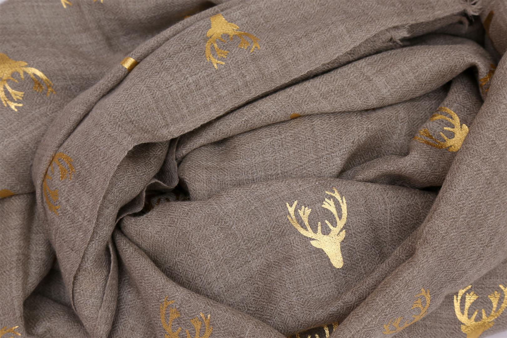 beige gold stag